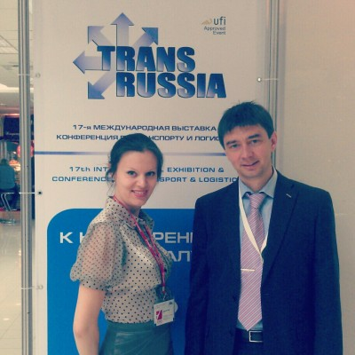 Irina Kiseleva and Vyacheslav Gural at TransRussia 2012